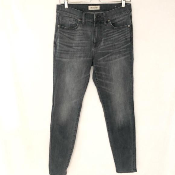 "Madewell Denim - Madewell 9"" High Riser Skinny Skinny Jean 29"
